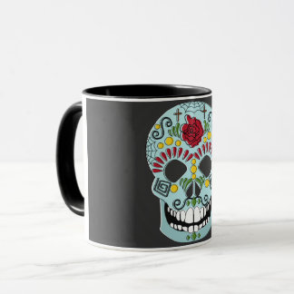 Becher Mexikanischer Totenkopf Tasse