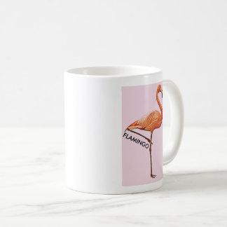 Becher rosa Flamingo Kaffeetasse