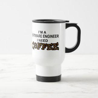 Bedarfs-Kaffee - Software Engineer Reisebecher
