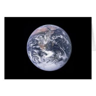 Bedecken Sie von Apollo 17, Genese-1:1 mit Erde Karte