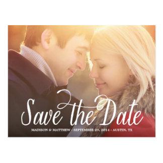 Bedeutete, | Save the Date Postkarte zu sein