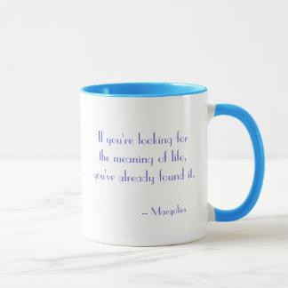 Bedeutung des Lebens Tasse