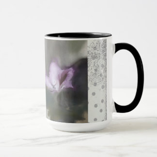 """Beeinflussende Orchidee"" 15 Unze-Keramik-Tasse LK Tasse"