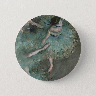 Beeinflussender Tänzer - Edgar Degas Runder Button 5,7 Cm