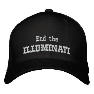 Beenden Sie das illuminati Bestickte Baseballkappe