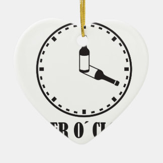 beer o clock keramik ornament