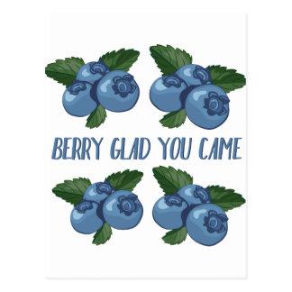 Beere froh postkarten