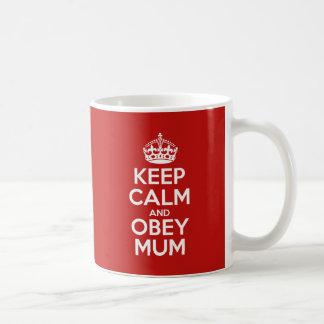 Befolgen Sie Mama Tasse