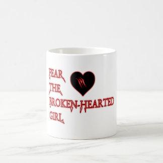 Befürchten Sie das gebrochenen Herzens Tasse
