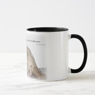 Beginnen Sie Ihr Tag mit Ihrem besten Freund Tasse