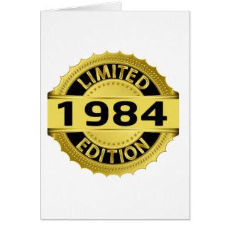 Begrenzte Ausgabe 1984 Karte
