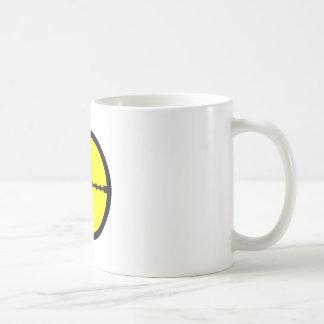 Behalten Sie Ihr Auge auf dem Ziel - Bereich-Druck Tasse