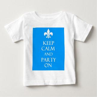 Behalten Sie Ruhe Baby T-shirt