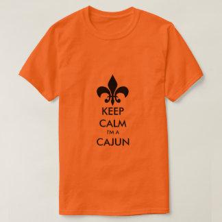 Behalten Sie Ruhe, die ich ein Cajun Louisiana T-Shirt