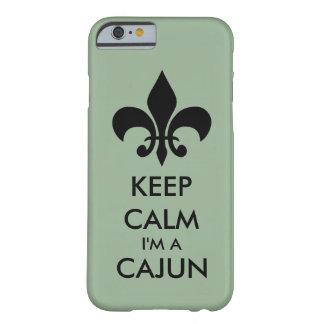 Behalten Sie Ruhe, die ich ein Cajun starker Barely There iPhone 6 Hülle