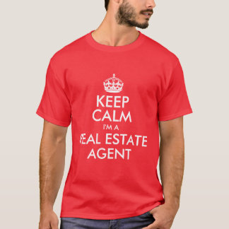 Behalten Sie Ruhe, die ich ein wirklicher T-Shirt
