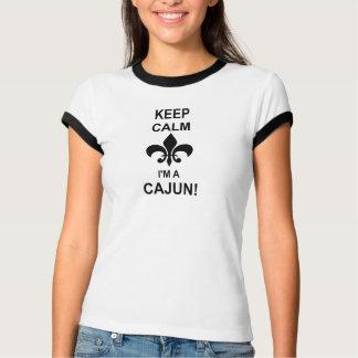 Behalten Sie Ruhe, ich sind ein Cajun Louisiana T-Shirt