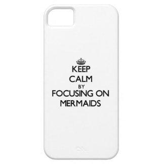 Behalten Sie Ruhe, indem Sie auf Meerjungfrauen iPhone 5 Schutzhüllen