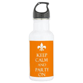 Behalten Sie Ruhe Trinkflaschen