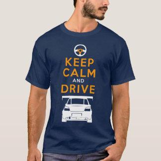 Behalten Sie Ruhe und fahren Sie - Impreza- T-Shirt