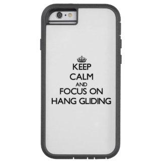 Behalten Sie Ruhe und Fokus auf dem Fall-Gleiten Tough Xtreme iPhone 6 Hülle