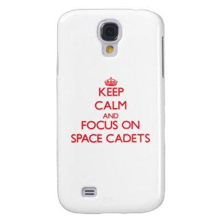 Behalten Sie Ruhe und Fokus auf Raum-Kadetten Galaxy S4 Hülle