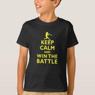 Behalten Sie Ruhe und gewinnen Sie den Kampf T-Shirt