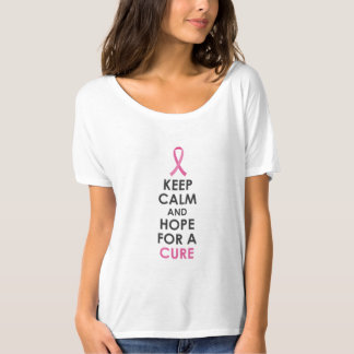 Behalten Sie Ruhe und Hoffnung für einen T-Shirt