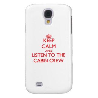 Behalten Sie Ruhe und hören Sie auf die Galaxy S4 Hülle