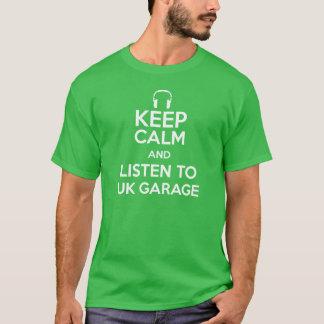 Behalten Sie Ruhe und hören Sie zur BRITISCHEN T-Shirt