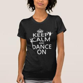 Keep Calm T-Shirts auf Zazzle Österreich