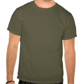 Behalten Sie Ruhe und tragen Sie ein Gewehr T-shirt