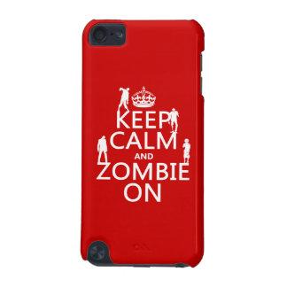 Behalten Sie Ruhe und Zombie auf (in irgendeiner iPod Touch 5G Hülle