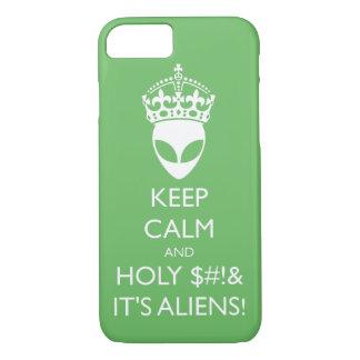 Behalten Sie ruhig und heiliges S%#t ist es iPhone 8/7 Hülle