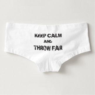 Behalten Sie ruhige Schuss gesetzte Damen-Hotpants