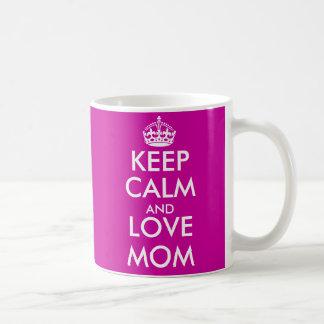Behalten Sie ruhige Tasse für Mamma | Geschenkidee