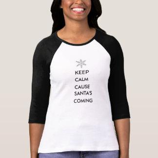 Behalten Sie ruhigen T - Shirt