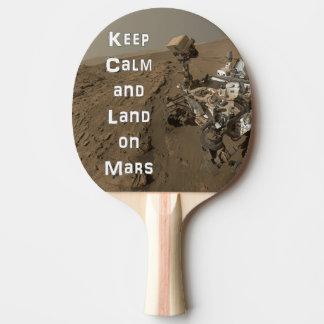 Behalten Sie ruhiges Mars-VagabundPing Pong Paddel Tischtennis Schläger