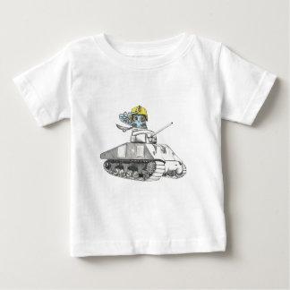 Behälter-Kampf-Eule Baby T-shirt