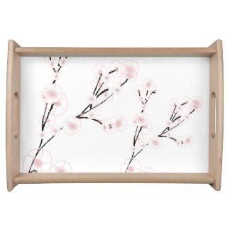Behälter - Kirschblüten Tablett