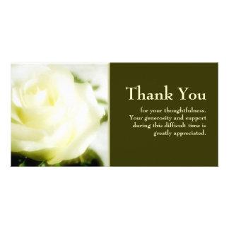 Beileid danken Ihnen Photokarten