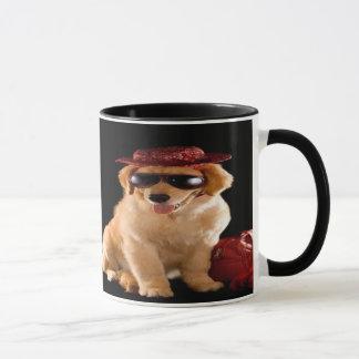 Beispielhafte Hunde Tasse