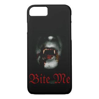 Beißen Sie mich Vampir iPhone 8/7 Hülle