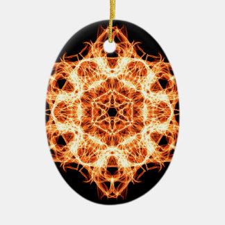 Beleuchtungs-Mandala Keramik Ornament