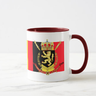 Belgien-Emblem Tasse