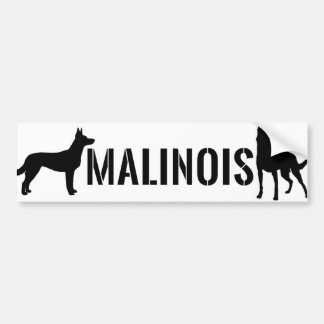 Belgischer Schäfer - Malinois Autoaufkleber