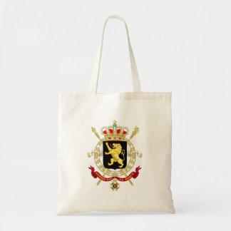 Belgisches Emblem - Wappen von Belgien Tragetasche
