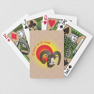 Bélier 21 mars au 20 avril Jeux de cartes Bicycle Spielkarten