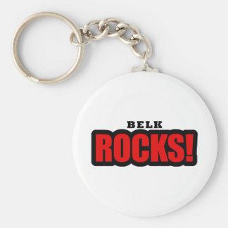 Belk, Alabama-Stadt-Entwurf Standard Runder Schlüsselanhänger