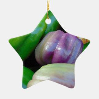 Bell-Paprikaschoten Keramik Ornament